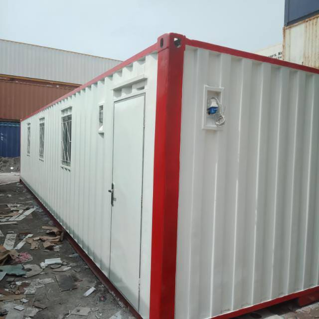 Office Container 40 feet, Kontainer kantor