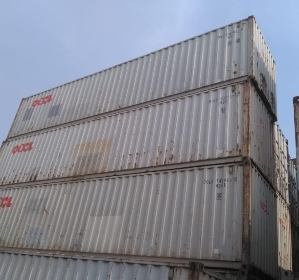 Dry container 40 feet murah, harga container bekas dan baru