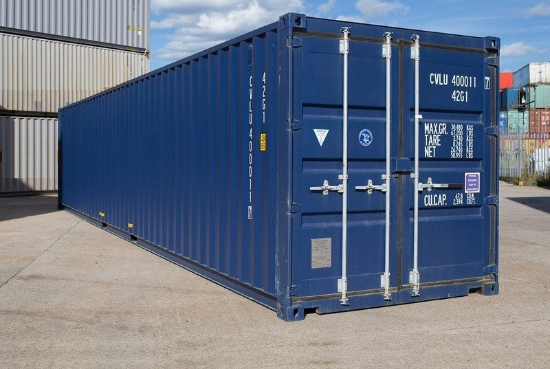 kontainer 40 feet second, jual container 40 feet baru bekas